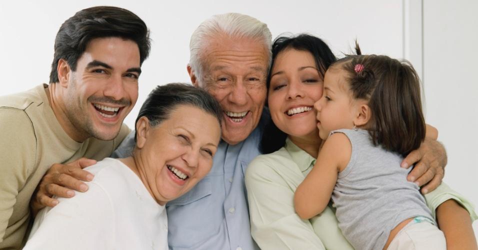 família, feliz, relacionamento, dependência, reunião, comportamento