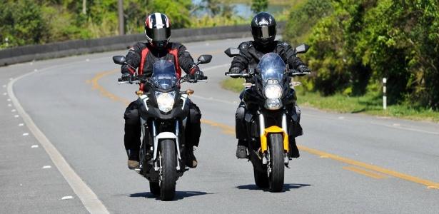 """Honda NC 700X e Kawasaki Versys 650: um duelo para saber qual das """"estradeiras da cidade"""" é a melhor - Doni Castilho/Infomoto"""
