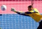 Brasil perde para a Rússia e disputa o bronze no futebol de sete dos Jogos Paraolímpicos - AFP PHOTO/PAUL ELLIS