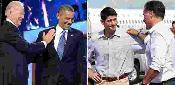 Na disputa de estilo entre os candidatos na eleição presidencial dos Estados Unidos, Barack Obama e Paul Ryan levaram a melhor - AFP