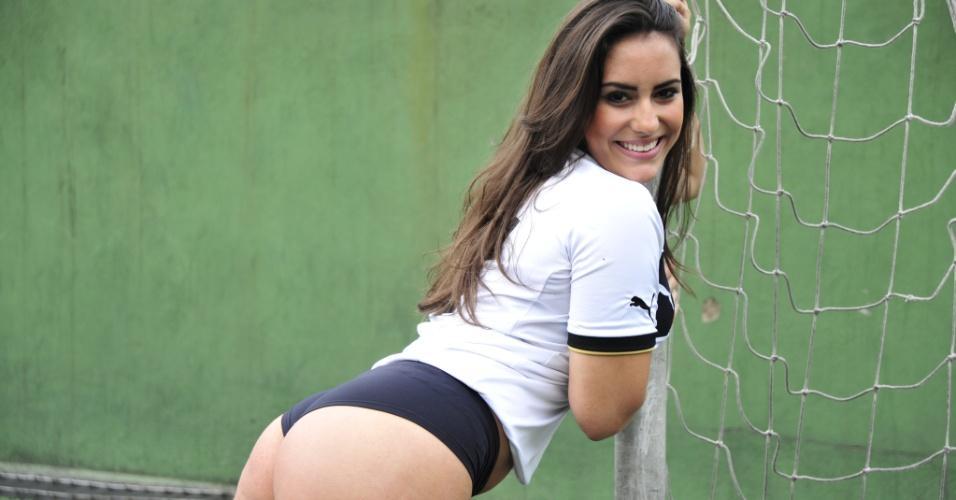 Suzane Almeida, a bela do Botafogo