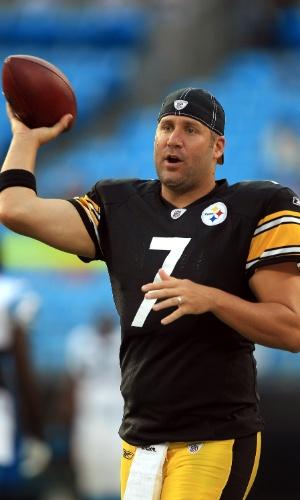 Ben Roethlisberger, do Pittsburgh Steelers, também figura na lista dos bonitões da NFL