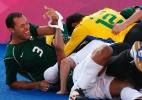 Em dia com maior número de medalhas de ouro, Brasil é tri no futebol de cinco e bate recorde - REUTERS/Eddie Keogh