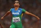 Lucas Prado conquista outra prata em Londres e Felipe Gomes fica com o bronze nos 100m T11 - Getty Images