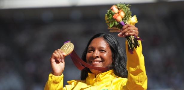 Shirlene Coelho ganhou a medalha de ouro e com direito a recorde mundial
