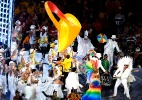 """""""Festival da vida"""" britânico e alegria da música brasileira encerram Paraolimpíada de Londres - Getty Images"""