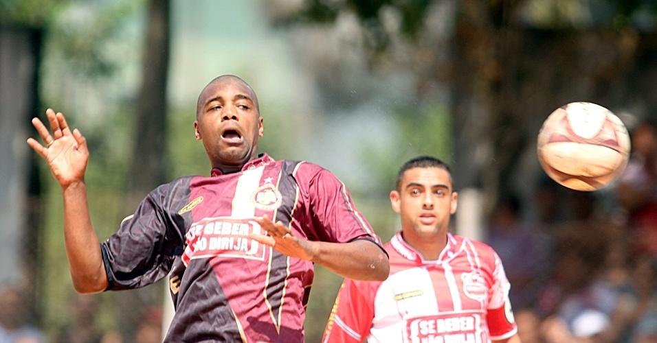 Juventus da Liberdade e Tiradentes travaram uma partida equilibrada que terminou empatada por 1 a 1