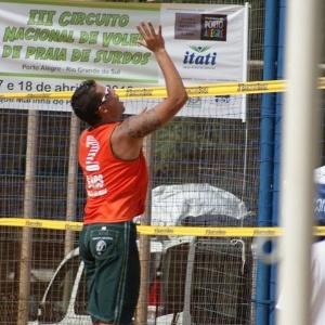 Toríbio Malagodi, diretor da Confederação Brasileira de Desportos dos Surdos e atleta do vôlei de praia