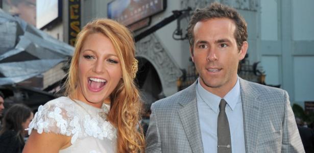 "Blake Lively e Ryan Reynolds na première de ""Laterna Verde"" em Hollywood (15/6/11)"