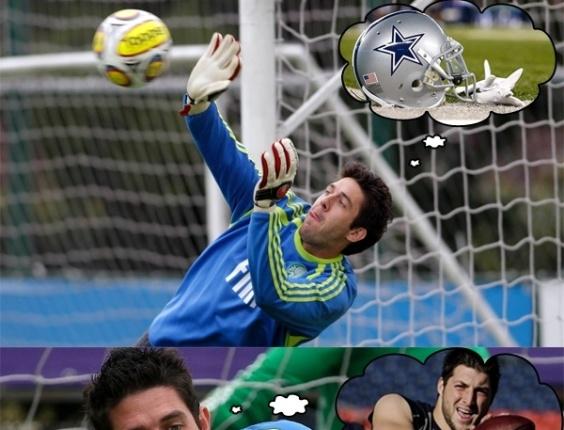 Corneta FC: Bruno anda com a cabeça em outro lugar; leia os pensamentos do goleiro
