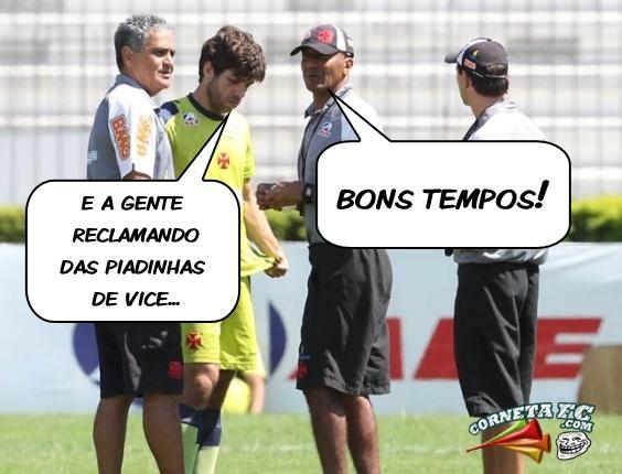 Corneta FC: Vascaínos sentem falta até das piadinhas de vice