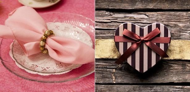 Noivos mais empenhados podem criar itens da decoração, como porta-guardanapo e caixa para aliança