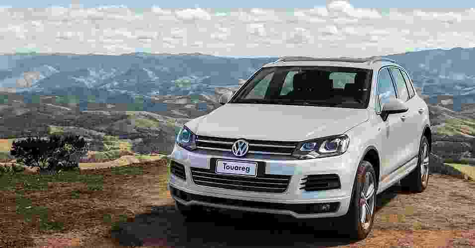Volkswagen Touareg R-Line, SUV com visual esportivo, chega com preços entre R$ 333.700 e R$ 360.590 - Divulgação