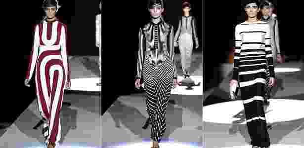 Looks de Marc Jacobs para o Verão 2013 desfilados na semana de moda de Nova York (10/09/2012) - Getty Images