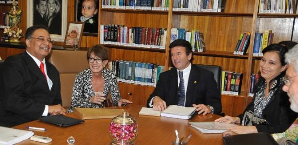Audiência foi realizada no gabinete do ministro Luiz Fux