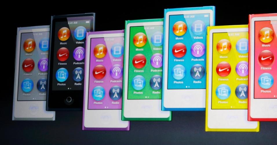 Apple apresenta novo iPod Nano durante evento nos Estados Unidos nesta quarta-feira (12)