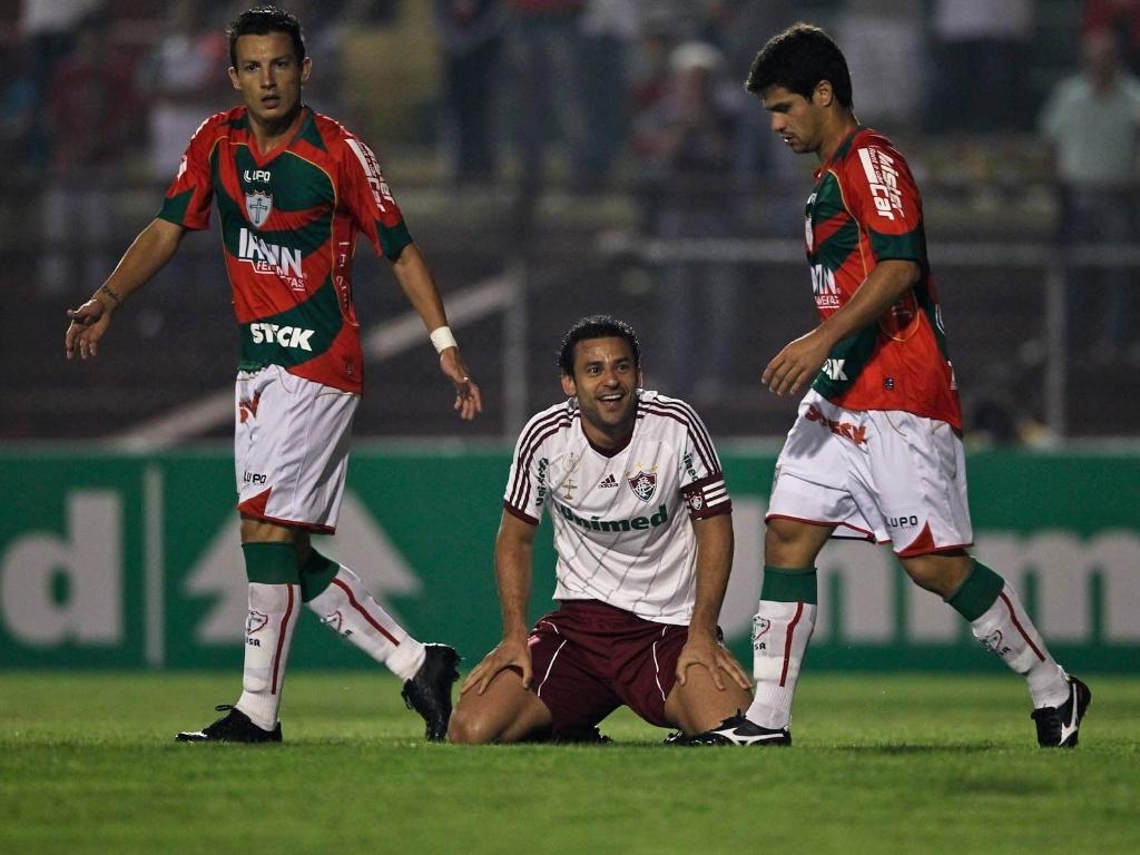 Fred lamenta chance desperdiçada pelo Fluminense no duelo contra a Portuguesa