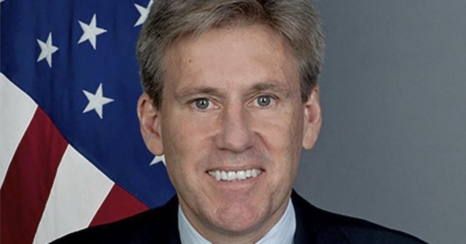 12.set.2012 - Imagem sem data mostra o embaixador norte-americano na Líbia, Christopher Stevens, que morreu em um ataque contra o prédio do consulado dos Estados Unidos em Benghazi, na Líbia