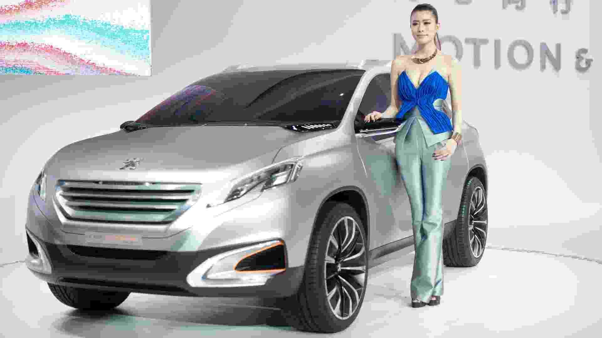Peugeot confirma fabricação do 2008 no Brasil. Modelo será um SUV compacto baseado no 208 e vai enfrentar o EcoSport - Ed Jones/AFP