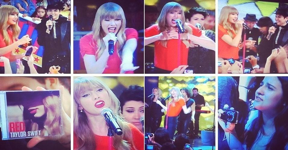 Xuxa mostra participação especial de Taylor Swift no TV Xuxa (12/9/12)