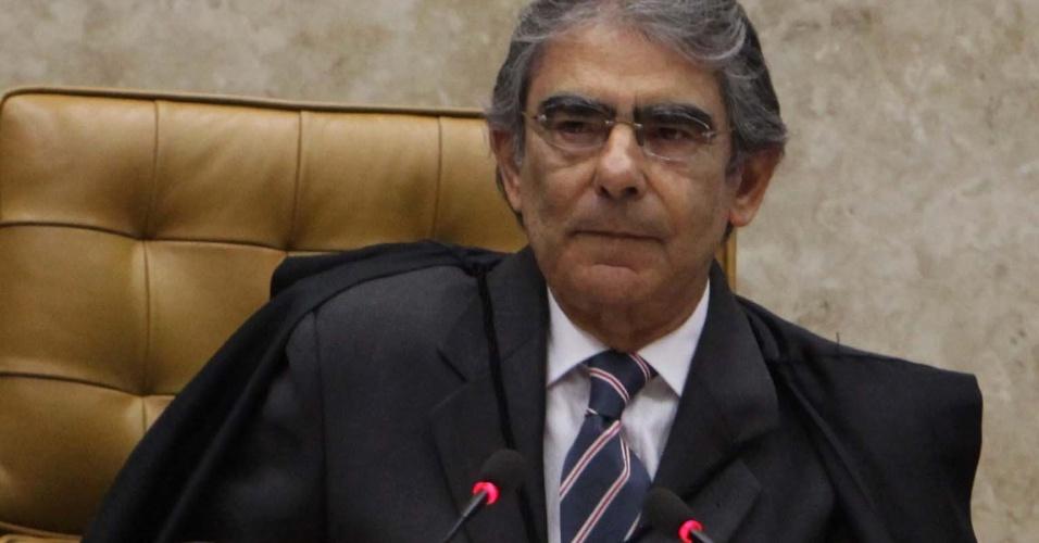 13.set.2012 ? Os ministros  do Supremo Tribunal Federal (STF) acompanham mais  um julgamento do mensalão, nesta quinta-feira, em Brasília