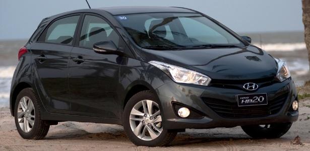 Hyundai HB20: revendas anunciam longa espera, mas preços de tabela: R$ 31.995 a R$ 47.995 - Divulgação
