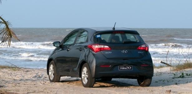 Hyundai não perdeu tempo e já enquadrou o HB20 no PBE; modelo compacto tirou nota A - Divulgação