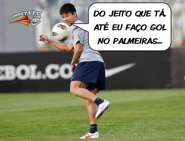 Corneta FC: Que Fase! Até o Zizao está cornetando a má fase do Palmeiras