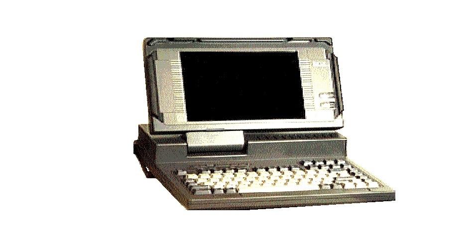 Em 1989, a Dell lançou o seu primeiro laptop, o 316LT, que tinha um processador de 16 Mhz e 2MB de memória RAM. O dispositivo ''portátil'' pesava cerca de 6,7 kg e vinha com driver de disquete. Dois anos depois, a fabricante lançaria o primeiro laptop no mercado com tela que exibia imagens coloridas. Um exemplar do computador é vendido no eBay por US$ 5.000 (cerca US$ 10.095)