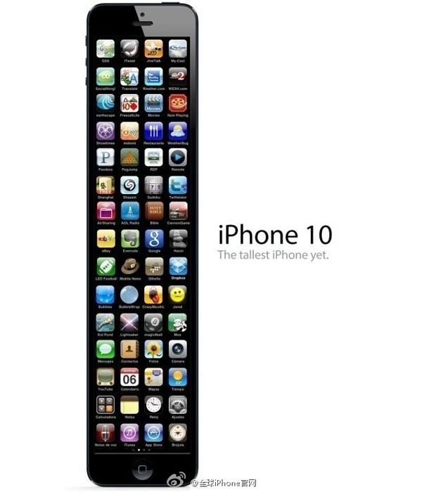 iPhone 10: o iPhone mais alto já feito