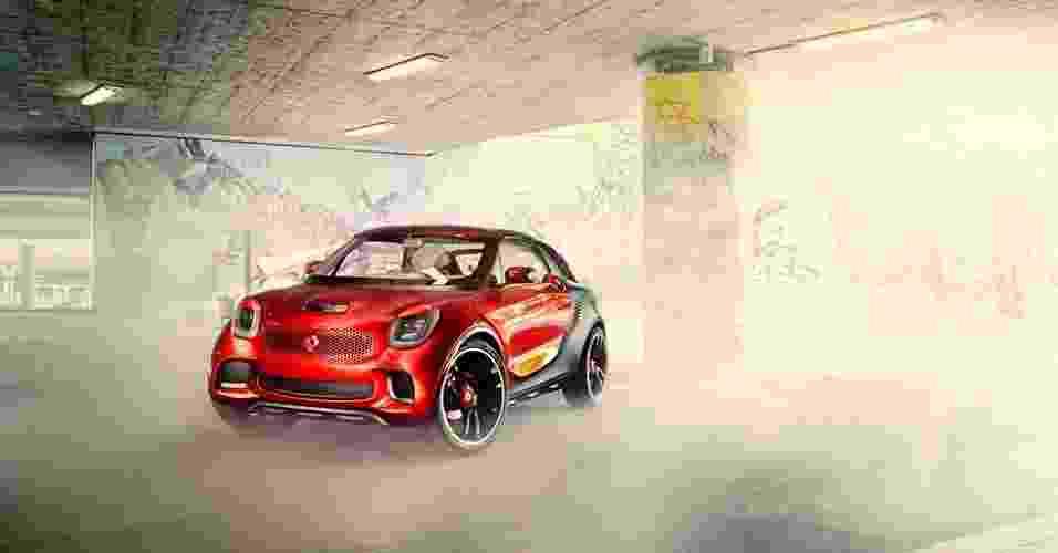 Conceito forstars é novidade da smart no Salão do Automóvel de Paris de 2012 - Divulgação