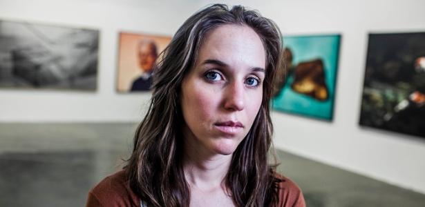 """Sofia Borges, 28, a mais nova artista da mostra: """"É um privilégio, ao mesmo tempo em que é um desafio"""" - Leonardo Soares de Souza/UOL"""