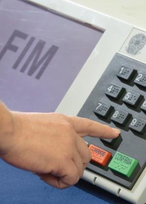 Urna eletrônica nas eleições municipais