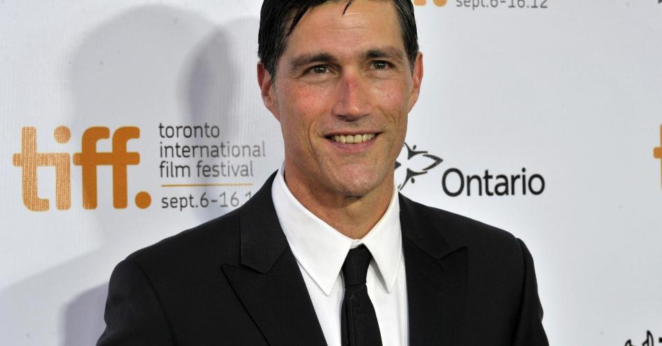 "Ator Matthew Fox apresenta o filme ""?Emperor"" no Festival de Toronto (14/9/12)"