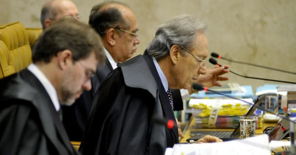17.set.2012 - Os ministros do Supremo Tribunal Federal (STF) retomam o julgamento do mensalão.