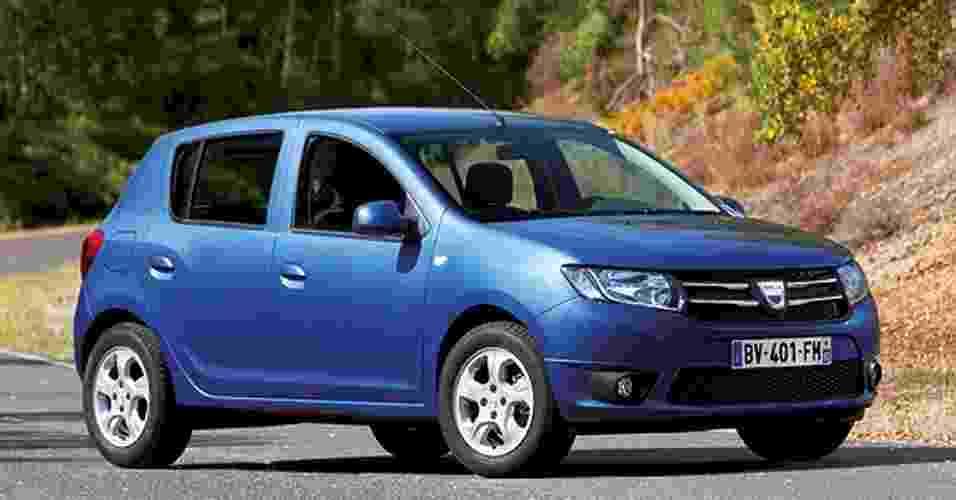 A Dacia, marca romena da Renault, revela imagens da segunda geração de Sandero e Logan - Divulgação