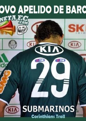 Corneta FC: Barcos estuda mudança de nome por causa da crise palmeirense