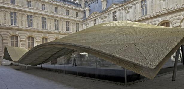 Imagem do novo departamento de Artes do Islã, no Museu do Louvre, em Paris - Philippe Ruault/Efe