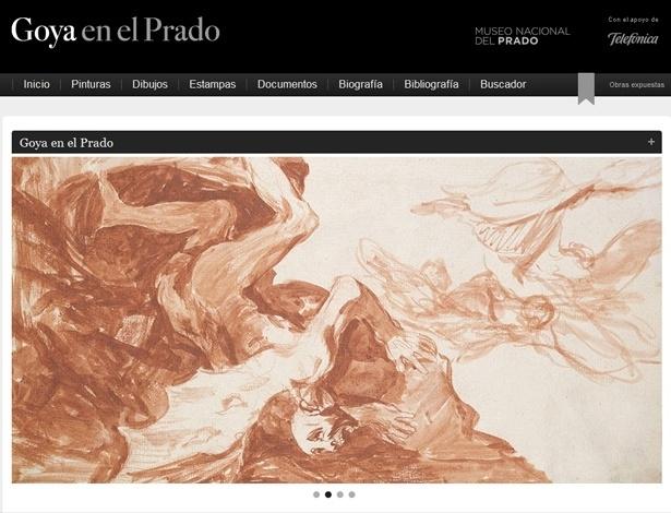 Página online reúne obra do pintor Francisco de Goya no Museu do Prado