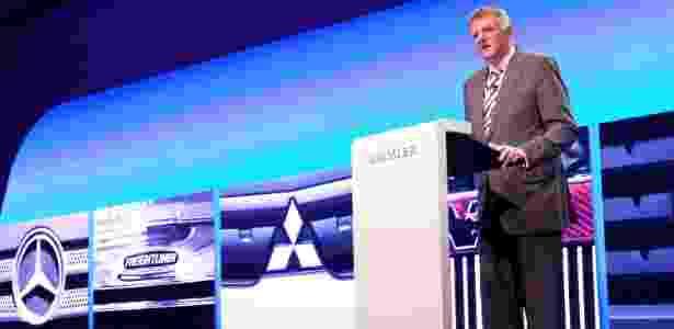 Andreas Renschler, chefe mundial de caminhões e ônibus da Daimler: Brasil precisa fazer gols - Divulgação
