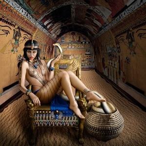Rainha do Egito Cleópatra em releitura pela fotógrafa Alexia Sinclair - Alexia Sinclair