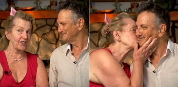 Naomi Carter, 73, e Jack Carter, 75, se reencontraram após ela achar o endereço dele no Google  - Reprodução