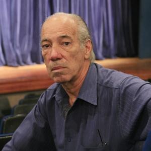 O cenógrafo Raul Belém Machado  - Divulgação