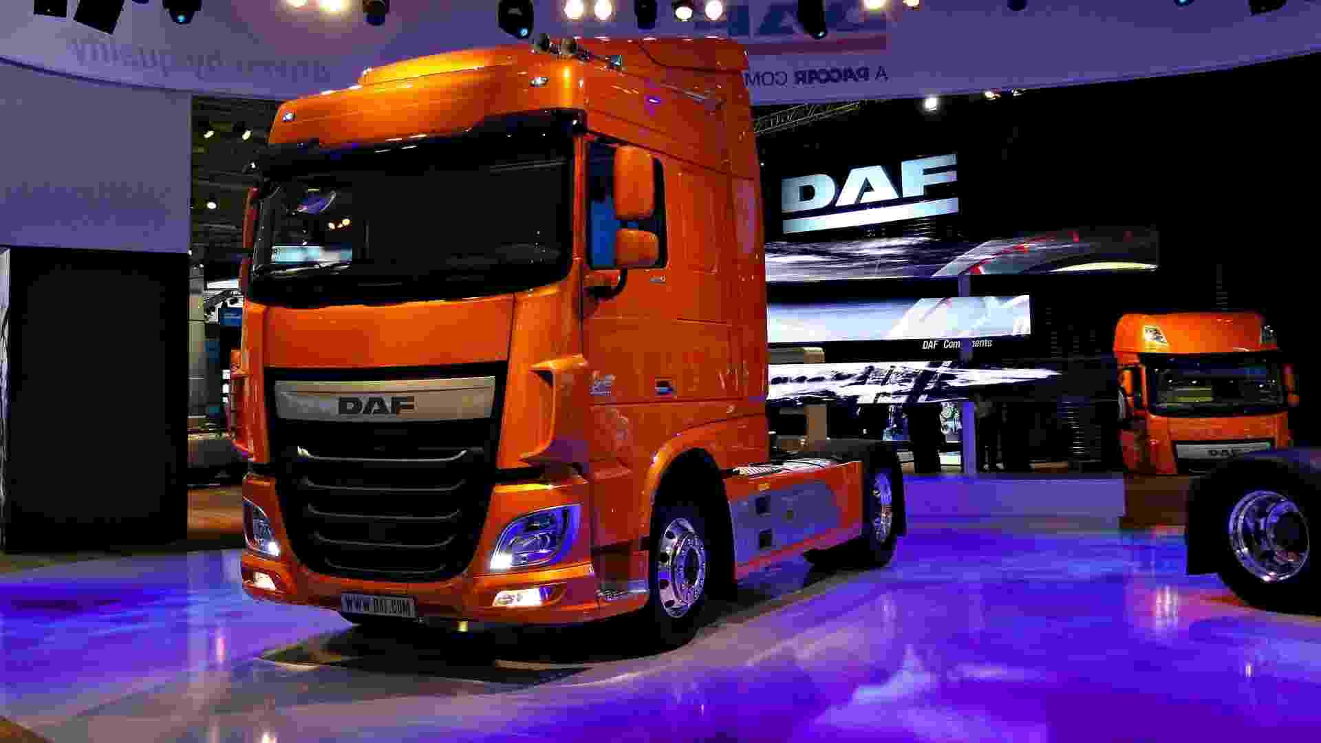Caminhão da holandesa DAF - Claudio Luis de Souza/UOL
