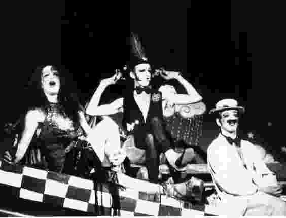 Dzi Croquettes foi um grupo carioca irreverente, alinhado à contracultura, à criação coletiva e ao teatro vivencial, que faz do homossexualismo uma bandeira de afirmação de direitos.  - Reprodução Facebook
