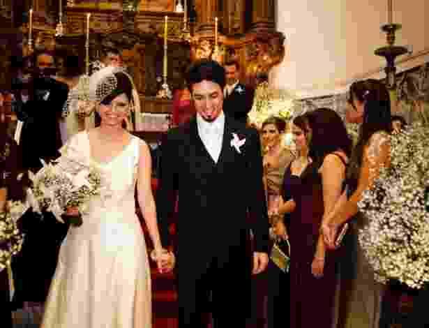 Imagem do vestido de noiva da estilista Fafi Vasconcellos - Arquivo Pessoal