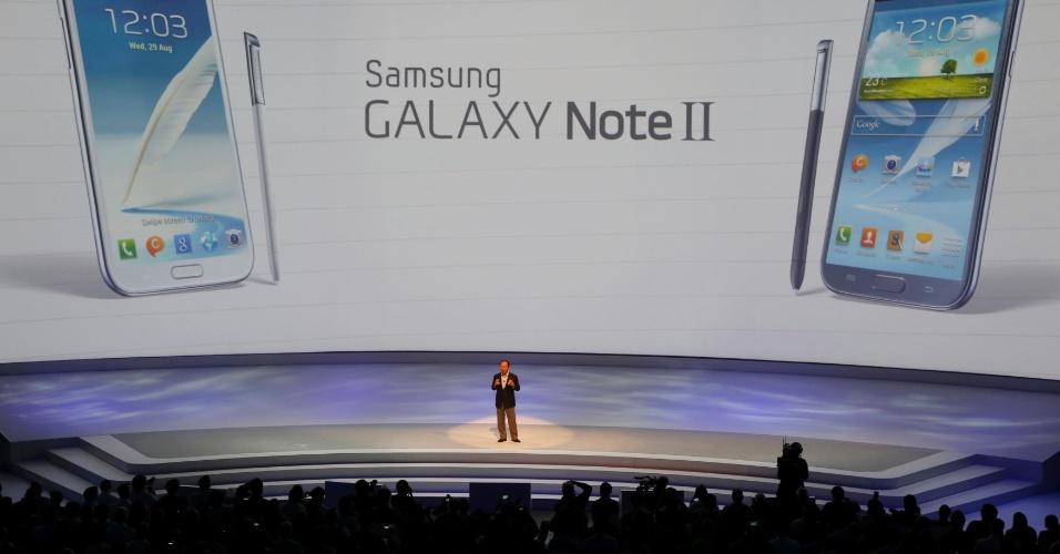 lançamento galaxy note II