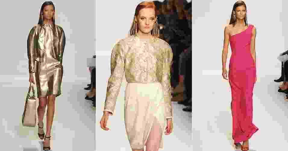 Looks de 1ª Classe Alviero para o Verão 2013 durante a semana de moda de Milão (19/09/2012) - Getty Images