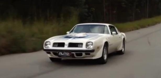 Trans Am é uma versão do Firebird, modelo fabricado pela Pontiac, extinta divisão da General Motors. - Reprodução