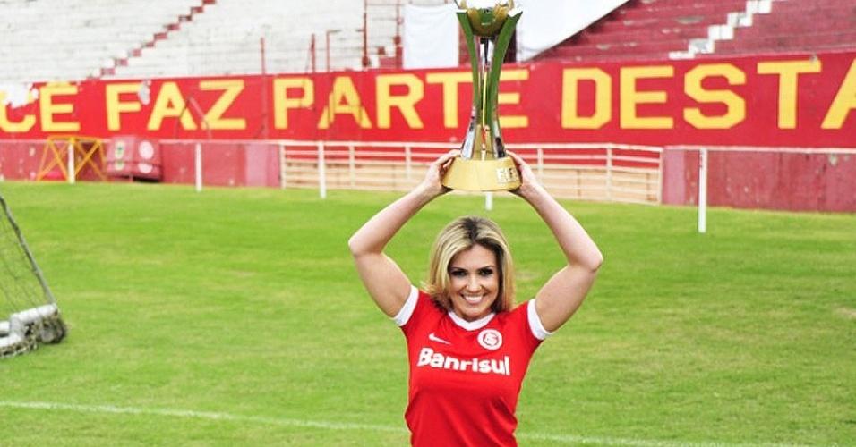 Vivian Coitinho, Bela da Torcida do Internacional